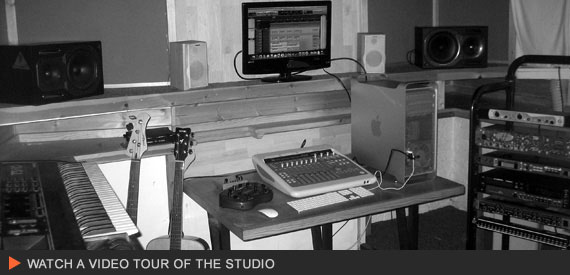 The Studio - Click the image to take a tour